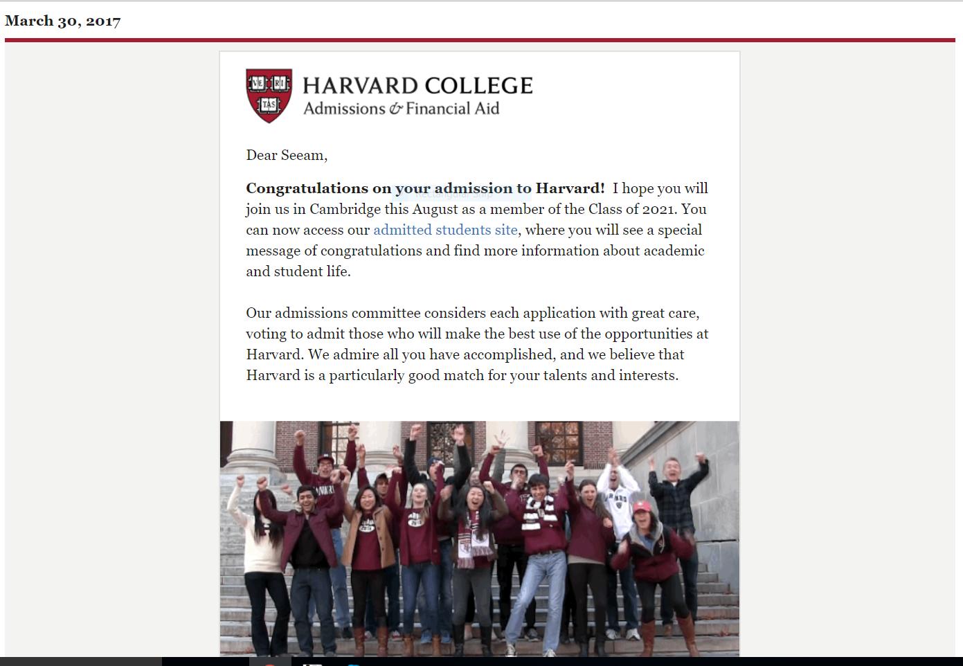 """""""Seeam Bhai, How do I get into Harvard?"""" – The Resources You Need"""
